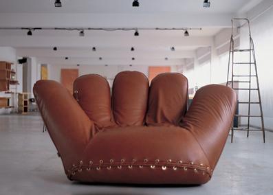 großer bequemer sessel